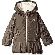 OshKosh B'Gosh Girls' Hooded Peplum Jacket Coat