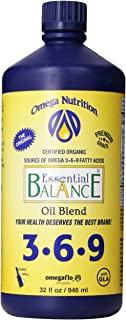 Omega Nutrition - Essential Balance Oil Blend 32 oz [Health and Beauty]