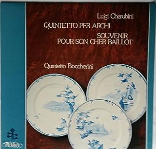 Luigi Cherubini: Quintetto Per Archi ~ Souvenir Pour Son Cher Baillot Per Quartetto D'archi ~~ Quintetto Boccherini ~ ITALIA ITL 70008 - 38.35 min.