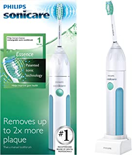 Philips Sonicare Essence Sonic Rechargeable Toothbrush, White