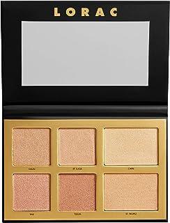 LORAC LUX Diamond Golden Hour Palette, 0.76 oz, Multicolor, 1810246