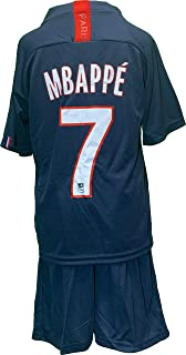 Chivalion Mbappe Jersey Youth 19-20 Home #7 MBAPPE Kids Or Youth Soccer Jersey PSG