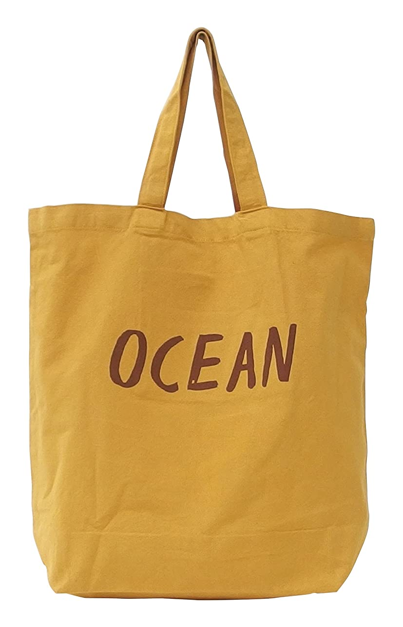 読み書きのできない流用する証明書キーストーン カラフルミニトート OCEAN イエロー COMITOOY