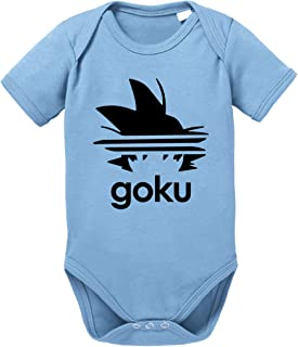 Sambosa Adi Goku Dragon Son Baby Ball Strampler Bio Baumwolle Body Jungen & Mädchen 0-12 Monate
