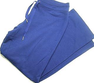 سروال رياضي رجالي من الصوف مطبوع عليه صورة ظلية مغلقة، أزرق داكن