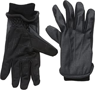 Men's Fleece Glove, Black, Large