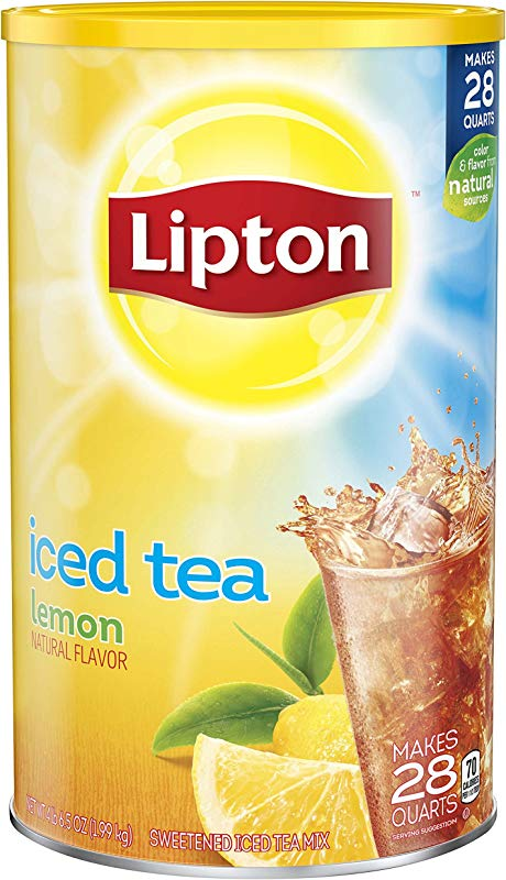 Lipton Iced Tea Mix Lemon 28 Qt