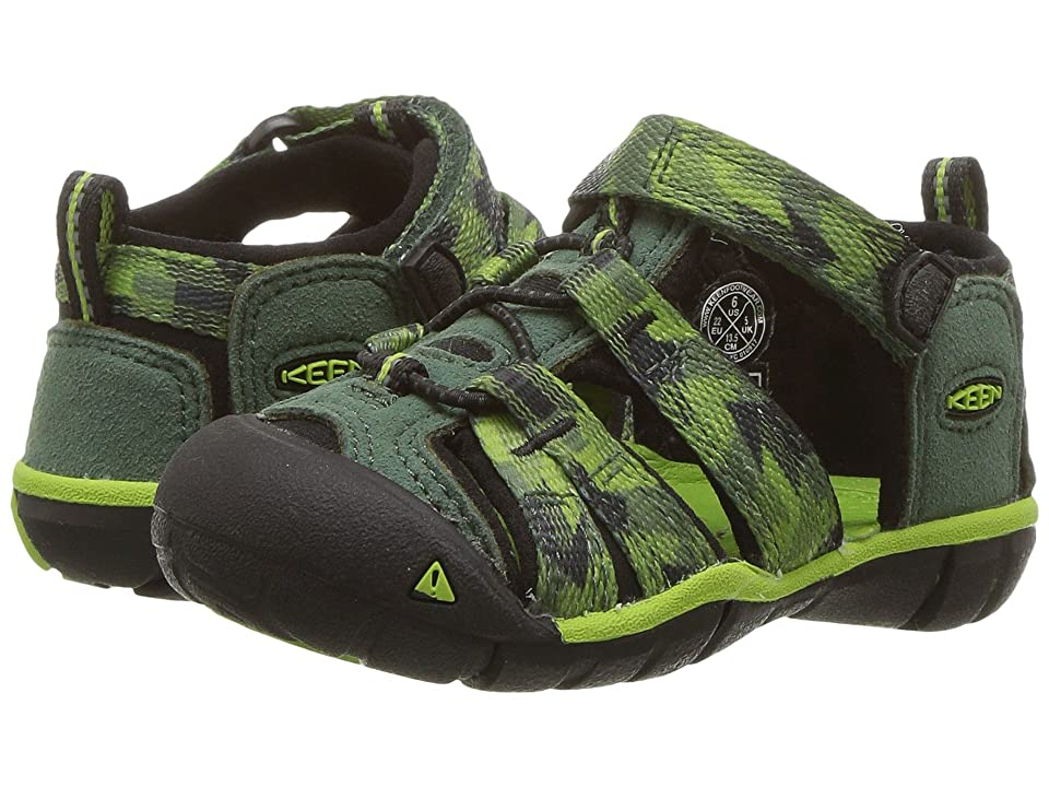 c632c8e9190d Keen Kids Seacamp II CNX (Toddler) (Duck Green Greenery) Boys Shoes