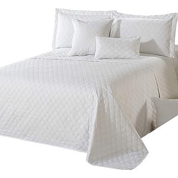 Delindo Lifestyle Copriletto PREMIO bianco / per letti matrimoniali / 220x240 cm