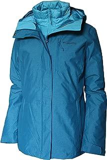 Columbia Women's Nordic Point III Waterproof Interchange Winter Omni Heat Jacket (Lagoon, L)