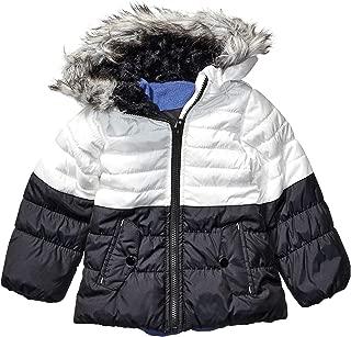 Girls' Colorblocked Warm Winter Coat