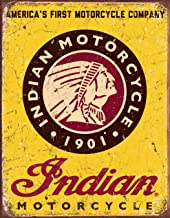 Best vintage indian motorcycle signs for sale Reviews