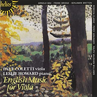 British Music for Viola