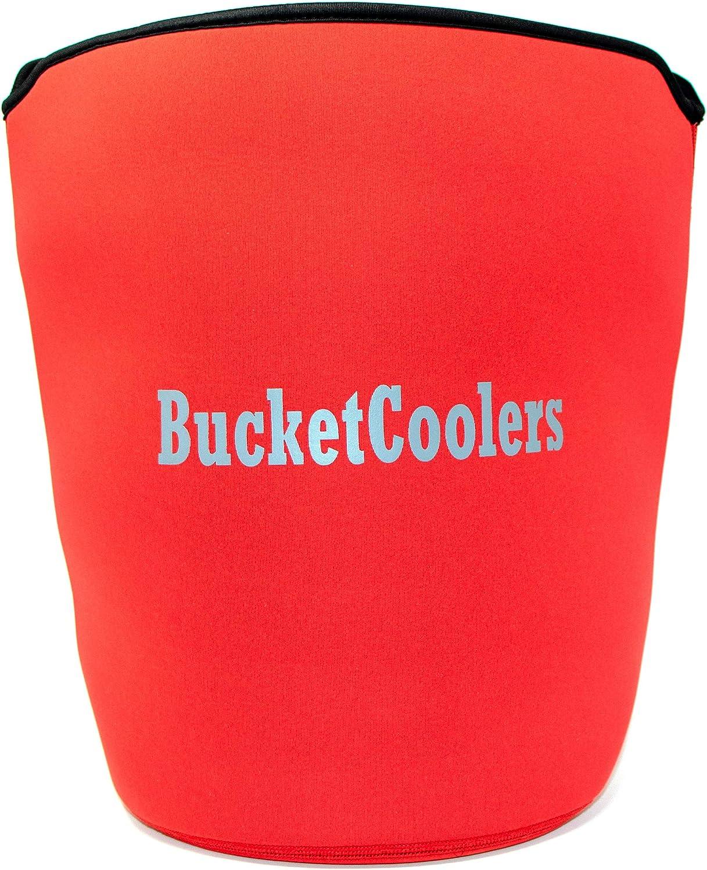 Bucket Cooler - 7mm Neoprene 5 Red Sleeve Selling Gallon for Elegant