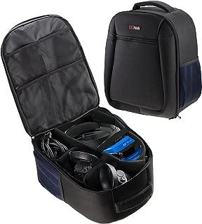 Navitech Rugged Black Carry Backpack/Rucksack/Case for The Lenovo Explorer Windows Mixed Reality Headset