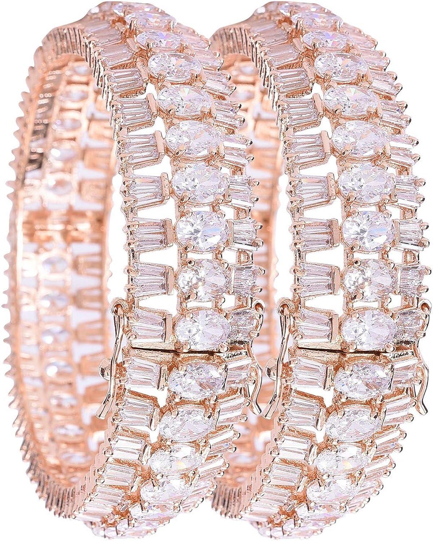 Ratnavali Jewels CZ Zirconia Gold Tone Diamond White Green B 希少 Red 日本産