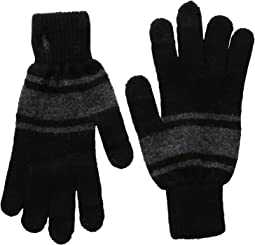 Polo Ralph Lauren - Cashmere Blend Rugby Stripe Touch Gloves