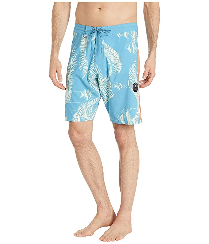 VISSLA 20 Kihi Kihi Boardshorts (Blue Wash) Men