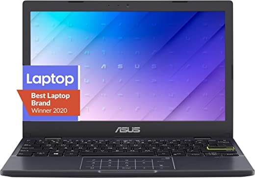 لابتوب اسوس L210 رفيع للغاية، شاشة 11.6 انش HD، معالج انتل سيليرون N4020، ذاكرة RAM 4 جيجا، تخزين 64 جيجا، لوحة ارقام، نظام تشغيل ويندوز 10 هوم ان اس مع مايكروسوفت بيرسونال 365 لمدة سنة، L210MA-DB01
