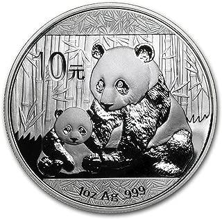 2012 CN China 1 oz Silver Panda BU (In Capsule) 1 OZ Brilliant Uncirculated