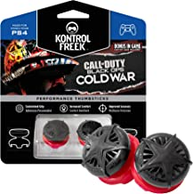 KontrolFreek Call of Duty: Black Ops Cold War Performance Thumbsticks for PlayStation 4 (PS4) and PlayStation 5 (PS5) | 2 ...