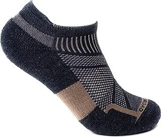 WOODROAD No Show Tab Merino Wool Ankle Socks - Premium Soft Wool