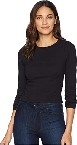 New York Nights Knit Jacquard Top with Back Keyhole