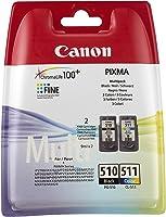 Canon PG-510/CL-511 MULTIPACK Orijinal 2'li Mürekkep Kartuşu Seti 2970B010