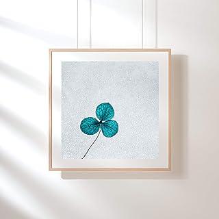 Fotografie Print Kunstdruck 12x12cm Mohnblume Romantik Quadrat