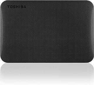 Canvio سعة 500 جيجابايت توشيبا جاهزة USB3.0 محمول القرص الصلب الأسود-HDTP205EK3AA