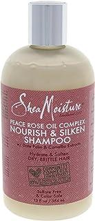 Shea Moisture Peace Rose Oil Complex Nourish and Silken Shampoo, 384ml