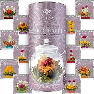 Teabloom Fruit Blooming Teas – 12 Unique Flower Varieties of Blooming Tea in 12 Delicious Fruit Flavors – E...