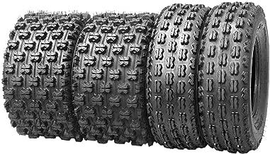 WANDA Set of 4 New Sport ATV Tires 21x7-10 Front & 20x11-9 Rear /4PR - 10075/10085