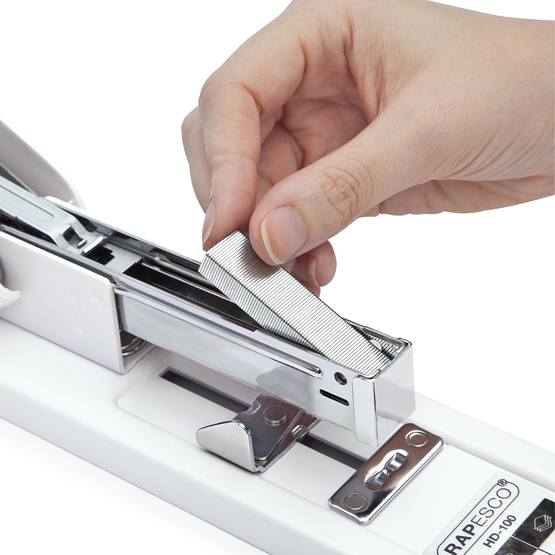 Rapesco Heavy Duty Stapler Set HD-100 with 2,000 923//10 mm Staples