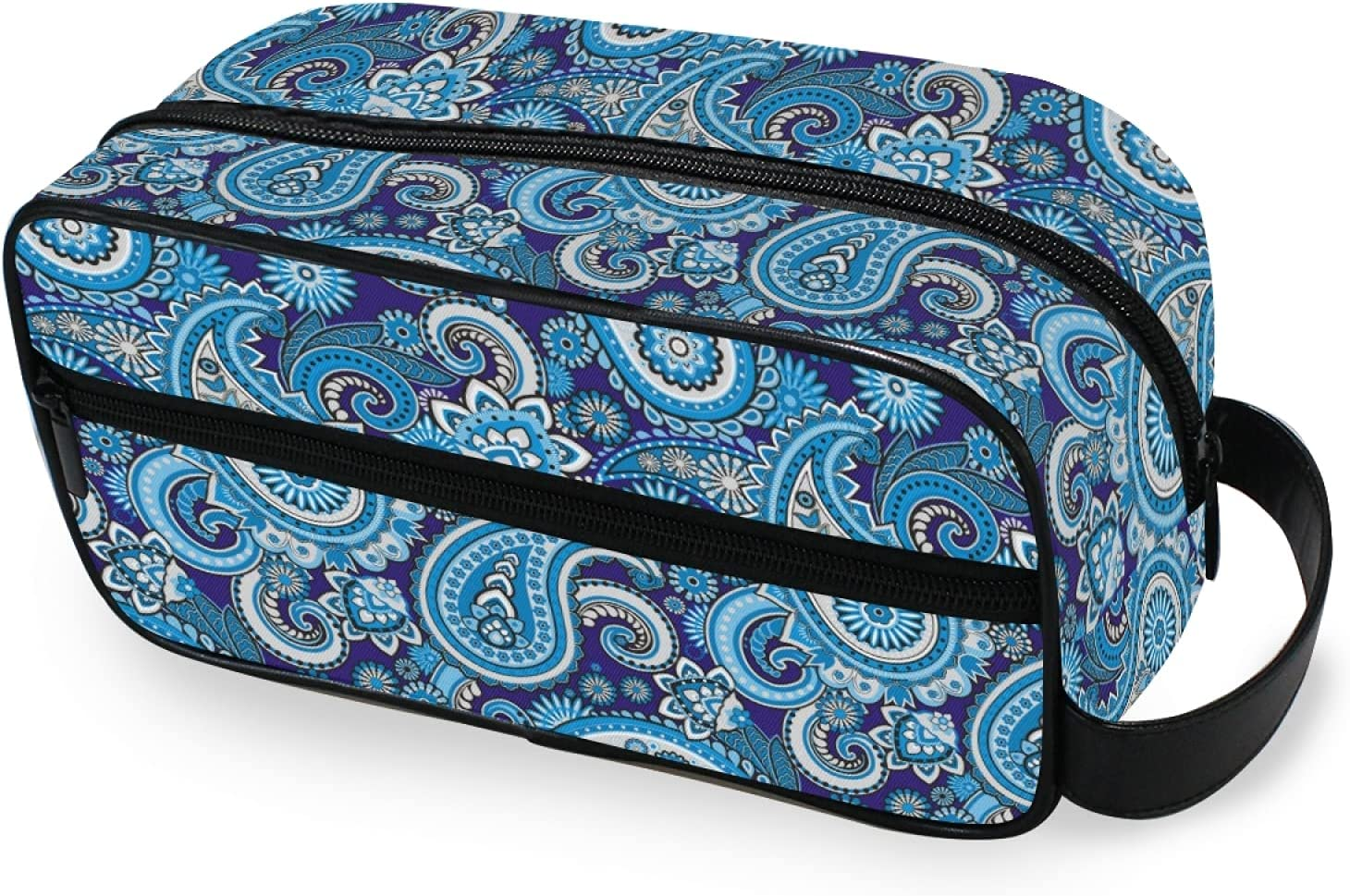FORMEETY Tribal Floral Paisley Hanging Toiletry Portable Fees free!! Bag Manufacturer direct delivery Cos