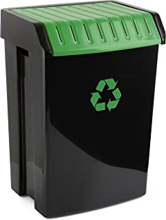 Tatay Recycling Container, 50 L, Green, One Size