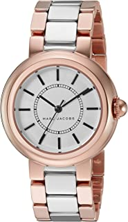 Marc Jacobs Women'S Black Dial Stainless Steel Band Watch - Mj3507,