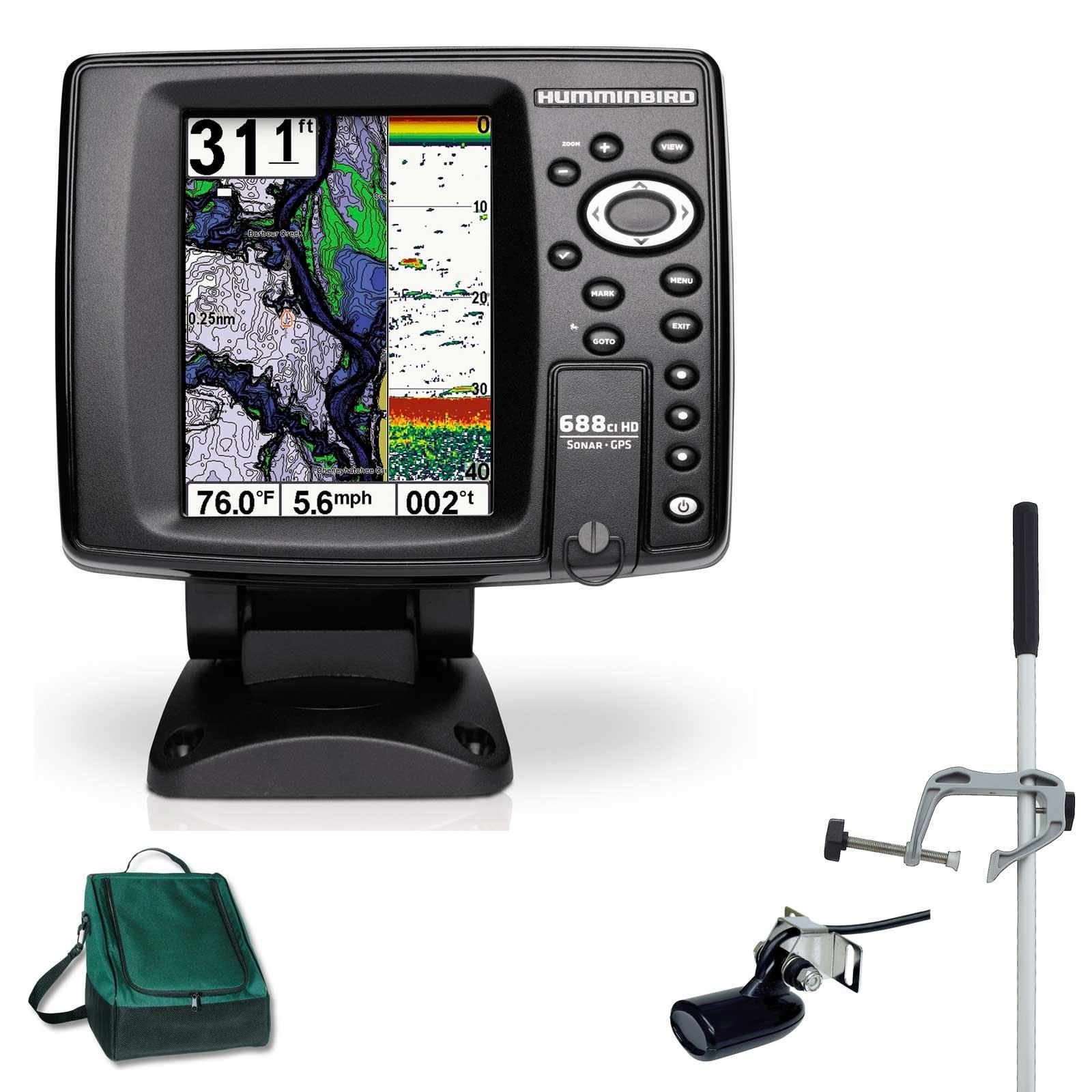 Humminbird 688cxi HD Echolot GPS Combo portátil Master Plus ...
