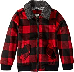 Buffalo Plaid Bomber Jacket (Toddler/Little Kids/Big Kids)