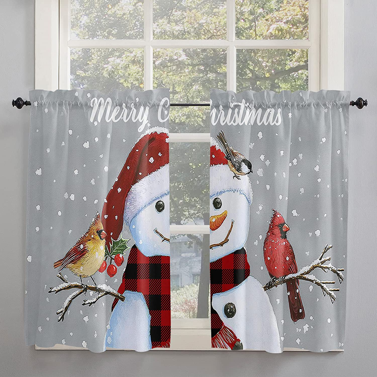 Cardinal Christmas Snowman 5% OFF Max 69% OFF Red Buffalo Check Curta Scarf Kitchen