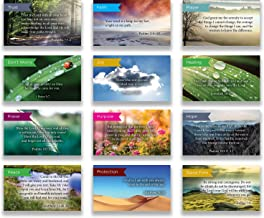 Logos Trading Post Pass Along Scripture Card Variety Pack   12 Hand Picked Desings   5 of Each Design   Pack of 60 - Assortment 6