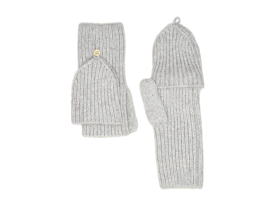 UGG Knit Flip Mitten (Light Grey) Extreme Cold Weather Gloves