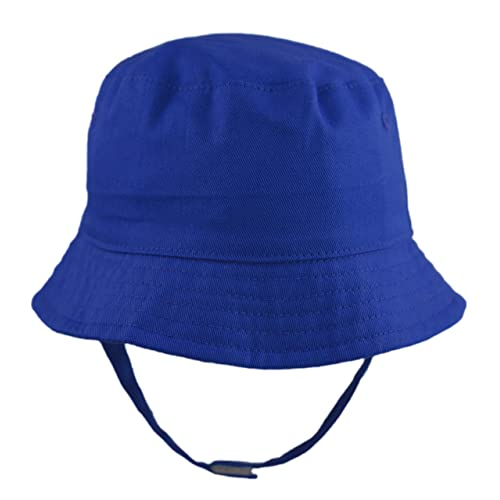 f7995cbf Pesci Baby Boys Girls Summer Bucket Sun Hat with Chin Strap
