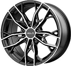 Helo HE907 17x7 5x4.5 38mm Black/Machined Wheel Rim 17