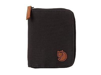 Fjallraven Zip Wallet (Dark Grey) Wallet Handbags