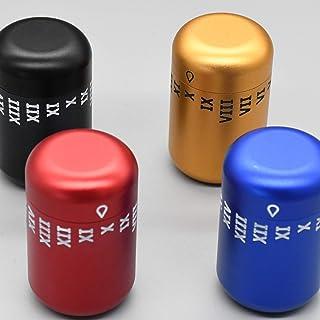 TCB Thecodebox - Bote de Aluminio Anodizado con Código de Apertura de Tres Dígitos Configurable.