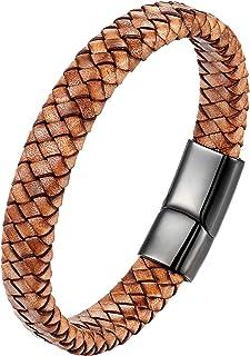 Skipper Ancre Bracelet 21/cm Bracelet Bijoux en nylon vert fluo avec ancre 6961/Argent/é