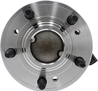 Dorman 951-833 Front Wheel Bearing and Hub Assembly for Select Ford/Lincoln Models