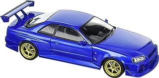 Greenlight 19032 1999 Nissan Skyline GT-R (R34) Bayside Blue 1/18