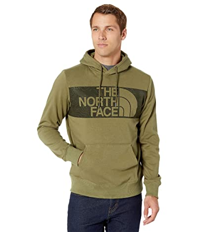 The North Face Edge to Edge Pullover Hoodie (Burnt Olive Green/Burnt Olive Green) Men